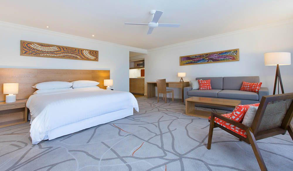 Freshen Up: Sheraton Noosa with its Noosa-inspired fittings.