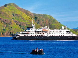 Ultra luxury Silver Discoverer will soon be frequently cruising the Kimberley Coast.