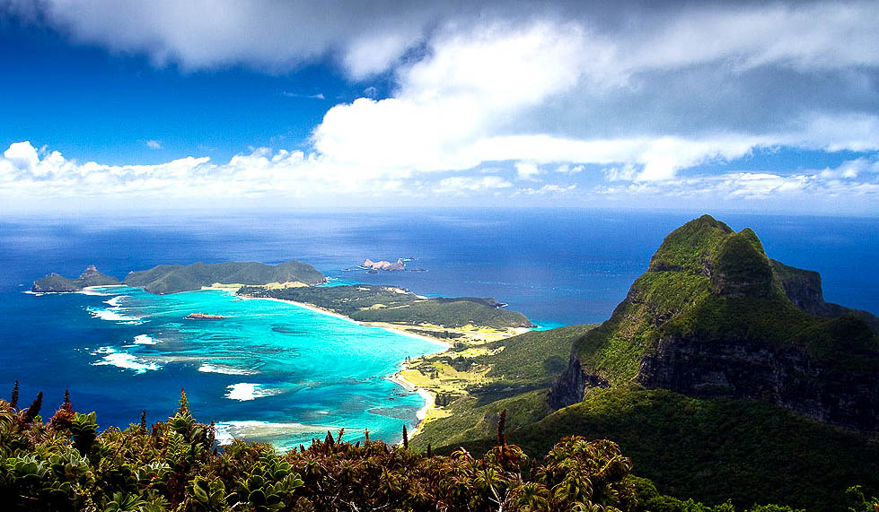 View from the Top: Lord Home Island.