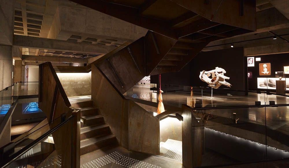 MONA madness: the museum's interior
