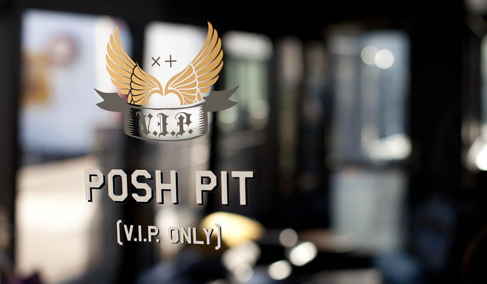 Pish-posh: The Posh Pit hosts a number of annual creative pop-up events.