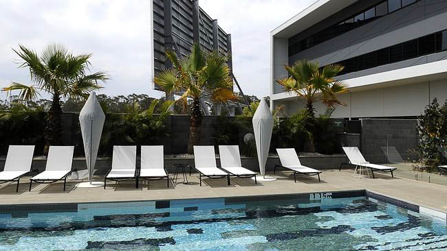 By the pool: Atura Blacktown.