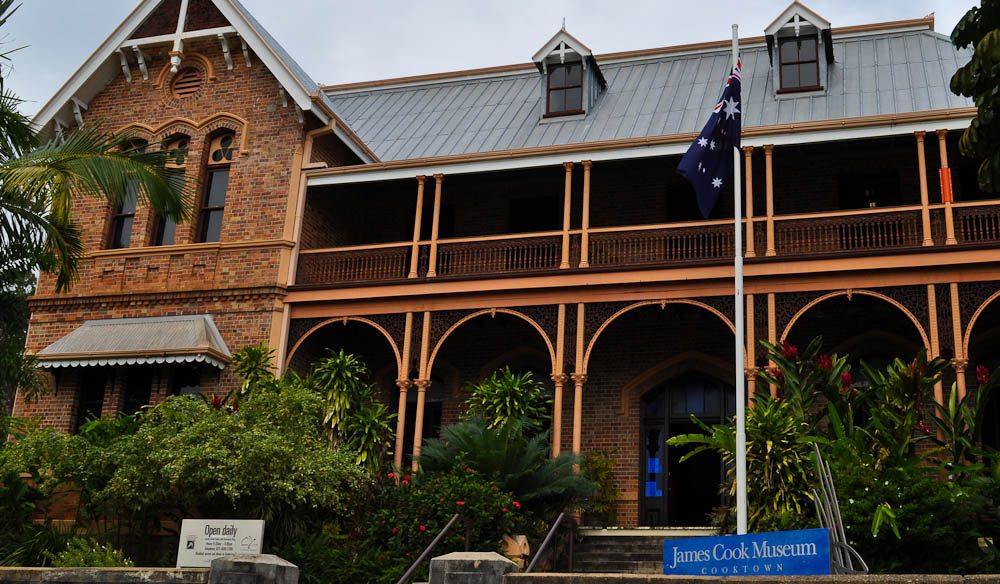 Sailing into the past - James Cook Museum serves up historical gold.