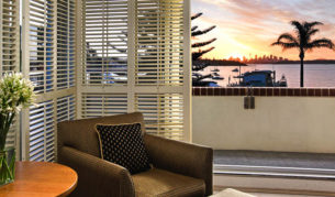 What would you call this room? Harbour View Grand King suite, of course.