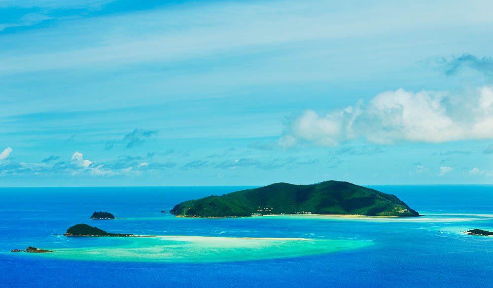 Hayman Island Aerial