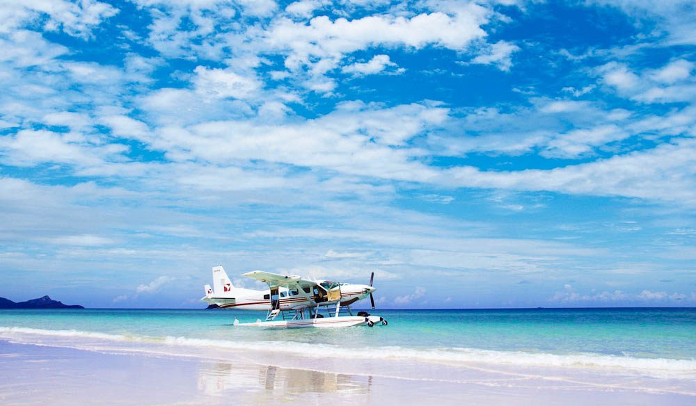 Take 'er down, captain: Charter flights to the Island are available