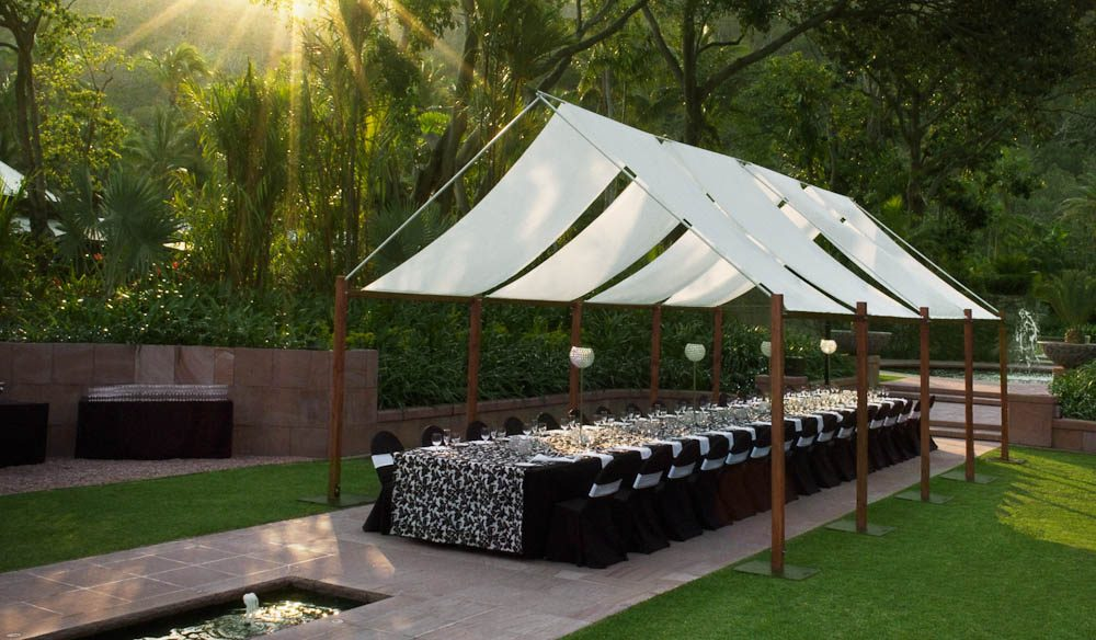 Hayman Resort caters for groups of all sizes in the Formal Garden