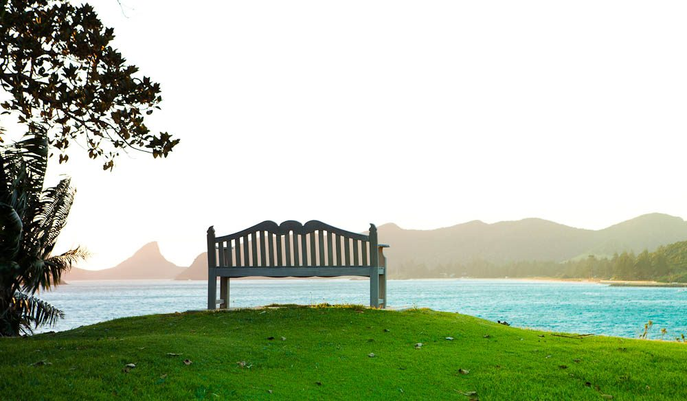 At LHI, as the locals know it, you can be active or just sit back and take in the views.