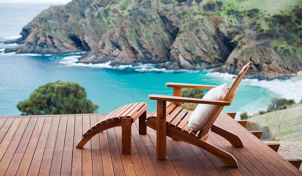 Recline: Kangaroo Beach Lodges, Kangaroo Island.