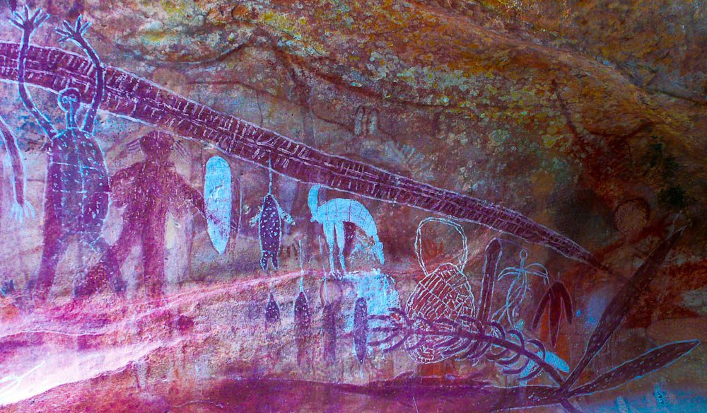 Quinkan art galleries is listed as one of the world's top 10 rock art sites.