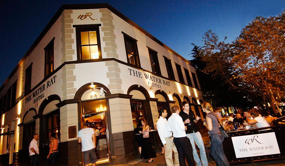 The bustling Water Rat Hotel will host some of this year's Melbourne Wine Week festivities.