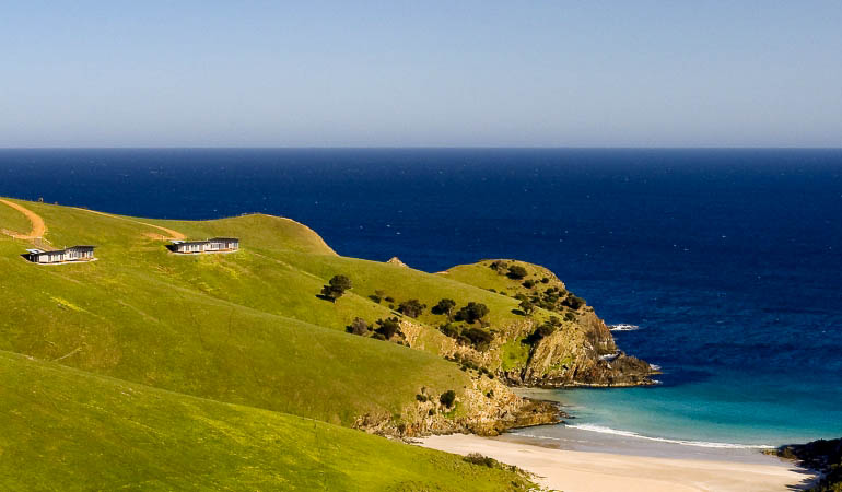 How's the view: Kangaroo Beach Lodges, Kangaroo Island.