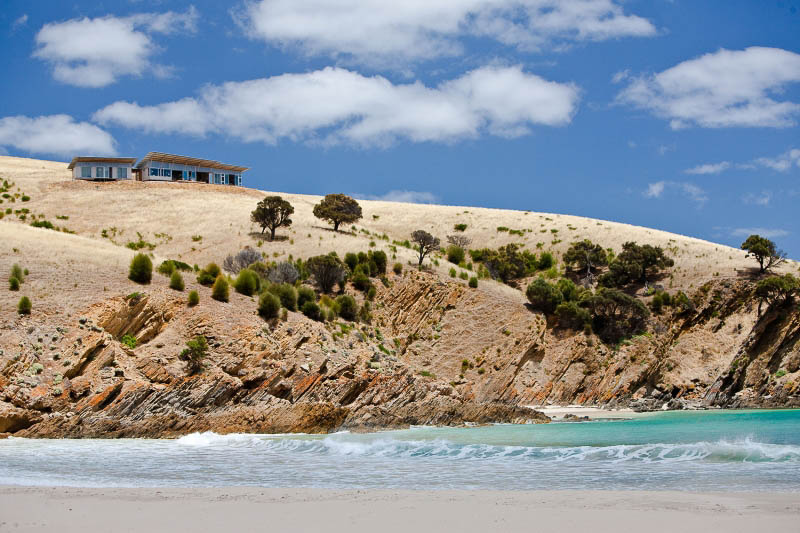 Top of the Island: Kangaroo Beach Lodges, Kangaroo Island.