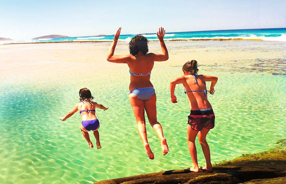 Australian Traveller's found 101 beach-side ideas to inspire you and the family for the summer - happy holidays and dive right in!