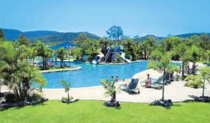 Big 4 Adventure Whitsunday Resort: 26 acres of subtropical gardens and close to Airlie Beach.