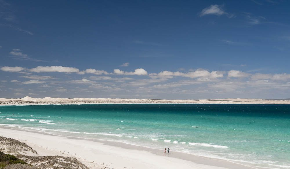 A feast for the stomach and the eyes: Coffin Bay National Park Beach (Almonta Beach).