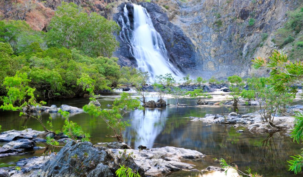 Tranquil waters - Bloomfield Falls of Cape York