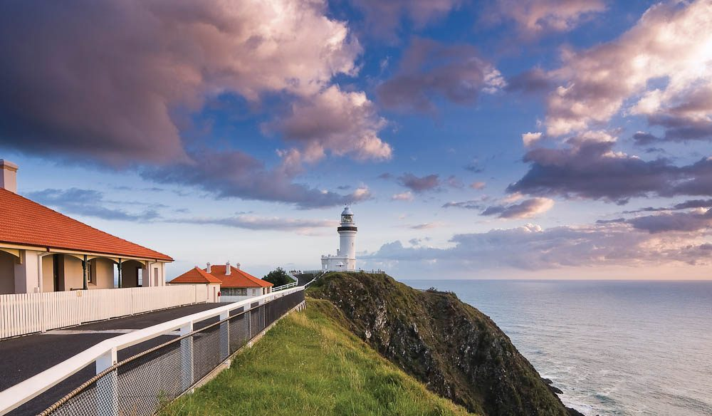 Cape Byron Lighthouse cottage (David Young).