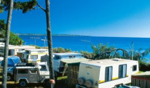 A seaside break in a caravan park offers all you'll need to keep the young ones entertained and you, well, relaxed.