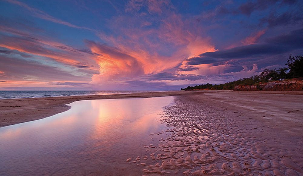 Andy's favourite beach in the Northern Territory, Casuarina Beach -