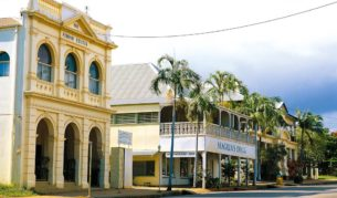 Charlotte Street, Cooktown - rich in culture and history.