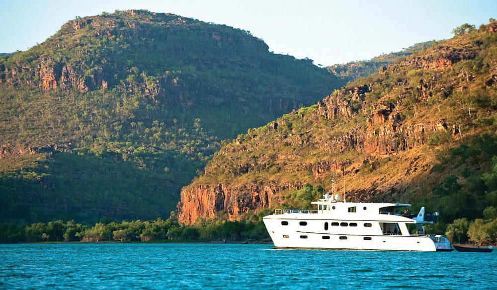 Cruising Kimberley options range from regular luxury to true luxury.