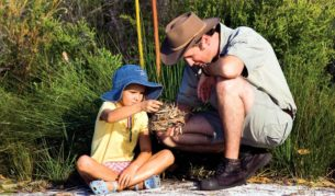 Getting them outdoors: The Junior Eco Rangers program at Kingfisher Bay Resort, Fraser Island.