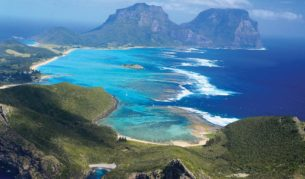 Lord Howe Island: 700km from Sydney, but in reality it's another world (Elizabeth Allnutt).