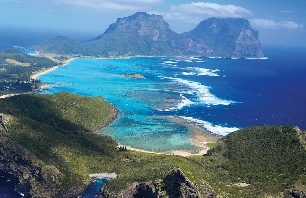 Lord Howe Island: 700km from Sydney, but in reality it's another world (Elizabeth Allnutt).