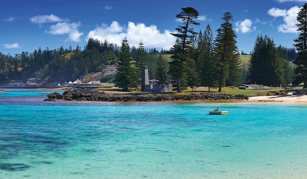 Emily Bay, Norfolk Island.