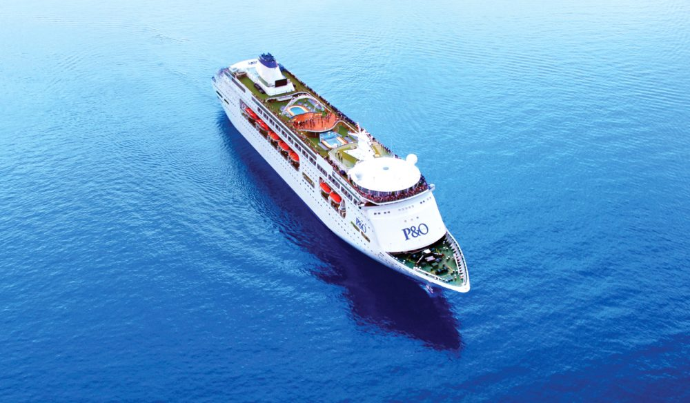 Land ahoy! P&O do short cruises on their ships such as the Pacific Pearl