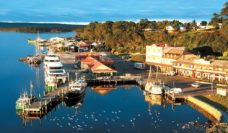 Plenty of places to stay and plenty of things to do in Strahan, Tasmania - oh, and it's pretty too