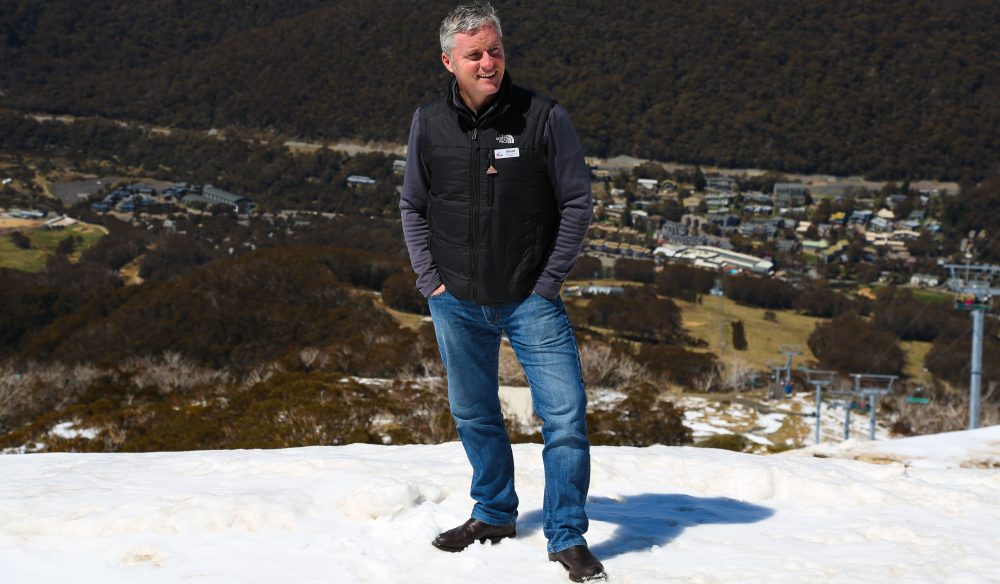 Snow vs. sun - Stuart Diver loves the dramatic seasonal change in Thredbo