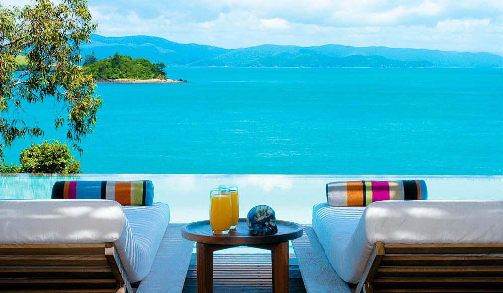 qualia's Coral Sea aspect and sheer attention to detail makes it a luxury resort favourite.