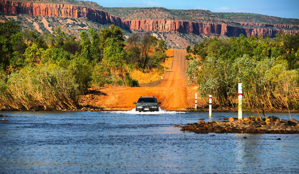 Riding the rough red roads in the adventure-filled Kimberley