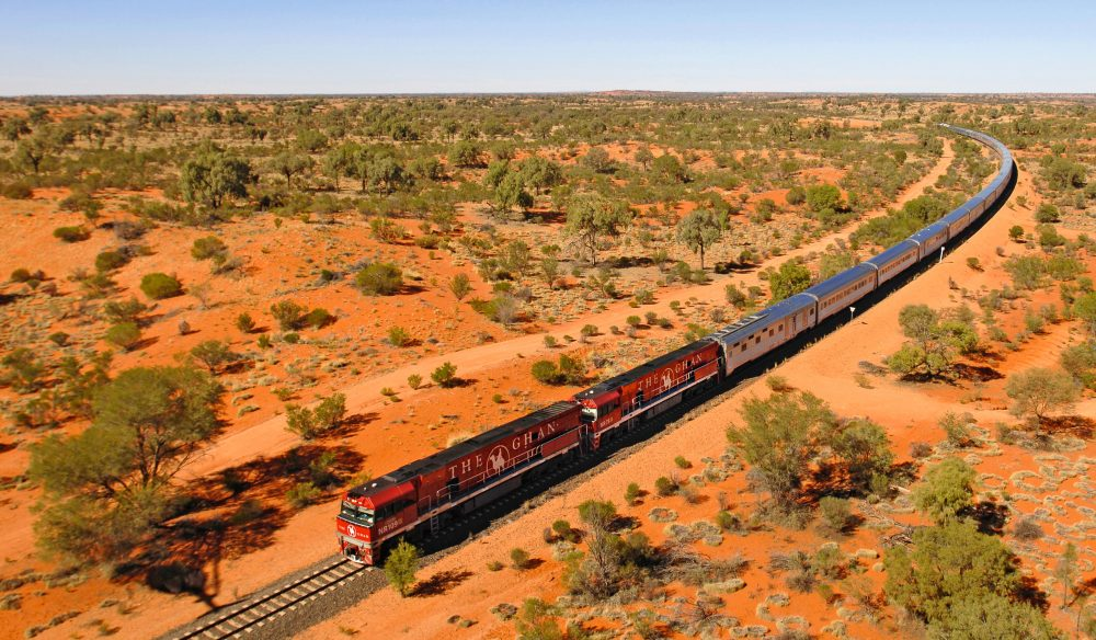 From the Top down - the Ghan