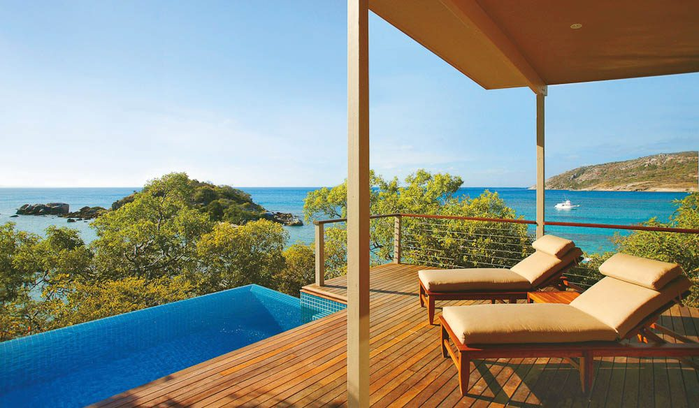 Neil reckons Lizard Island is not another 'everything is pristine and perfect' kind ofresort.