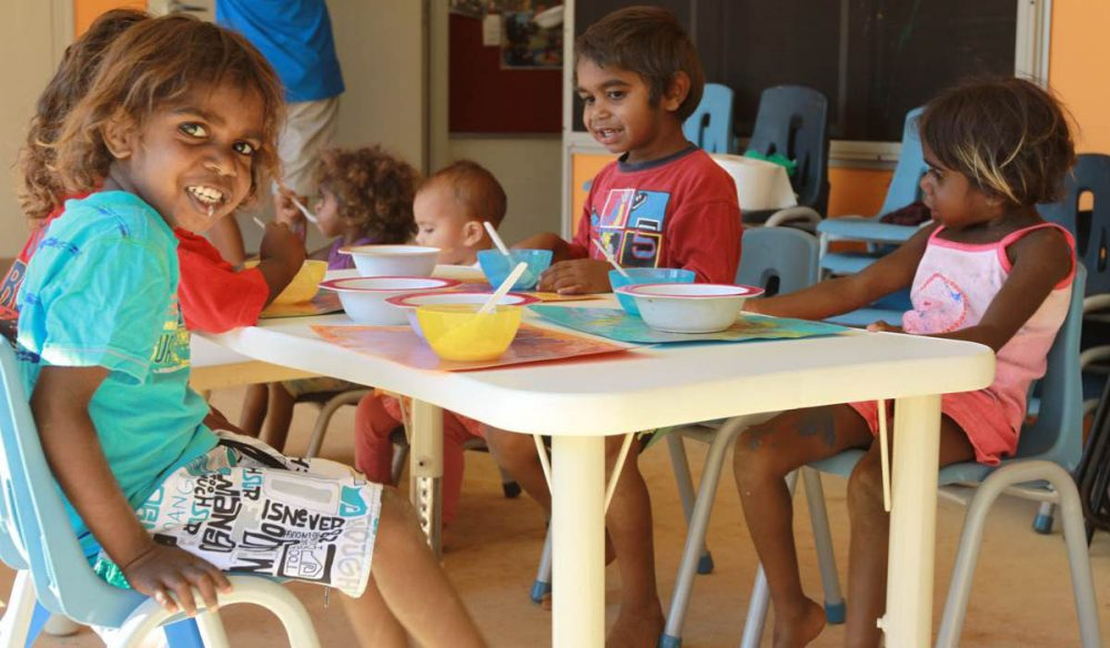 Arts and crafts: Spend time bringing out indigenous kids' creativity (Photo: Bridie Walsh).