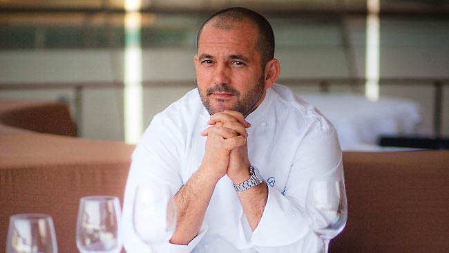 Guillaume Brahimi is now adding 'in-room' menus to his repertoire, at Melbourne's Crown Towers.