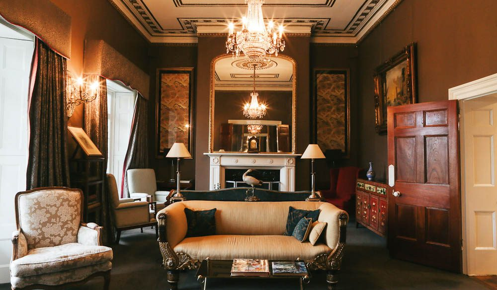 The grand Quamby Estate is the perfect start to this luxury experience