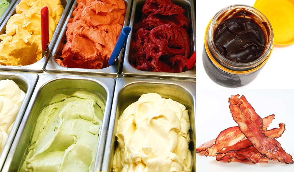How far will your tastebuds venture into experimental gelato flavours?