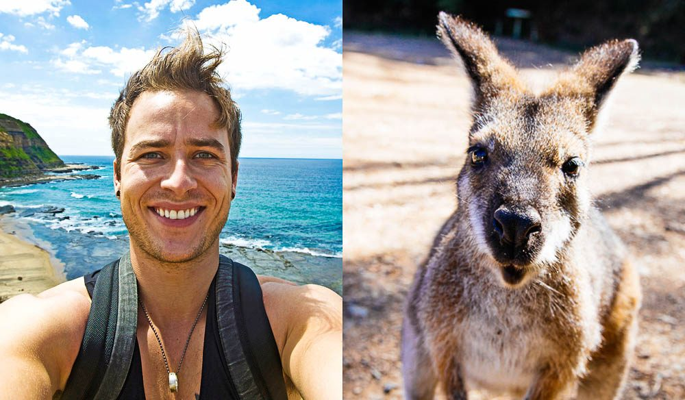 The Funster, Californian Andrew Smith, has been travelling around NSW for the past six months - so what does he think of the locals?