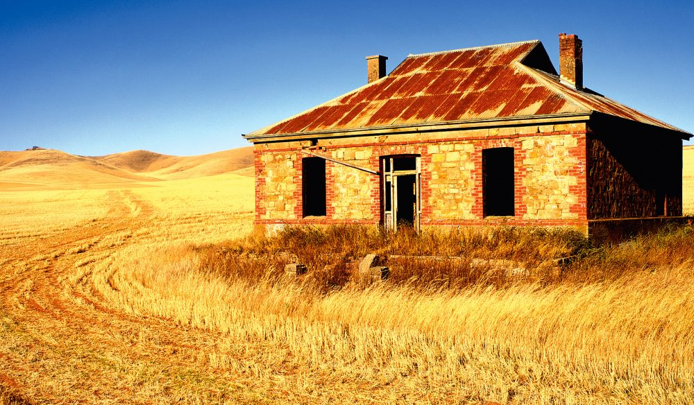 Iconic Burra Homestead - featured on the cover of Midnight Oil album 'Diesel and Dust'