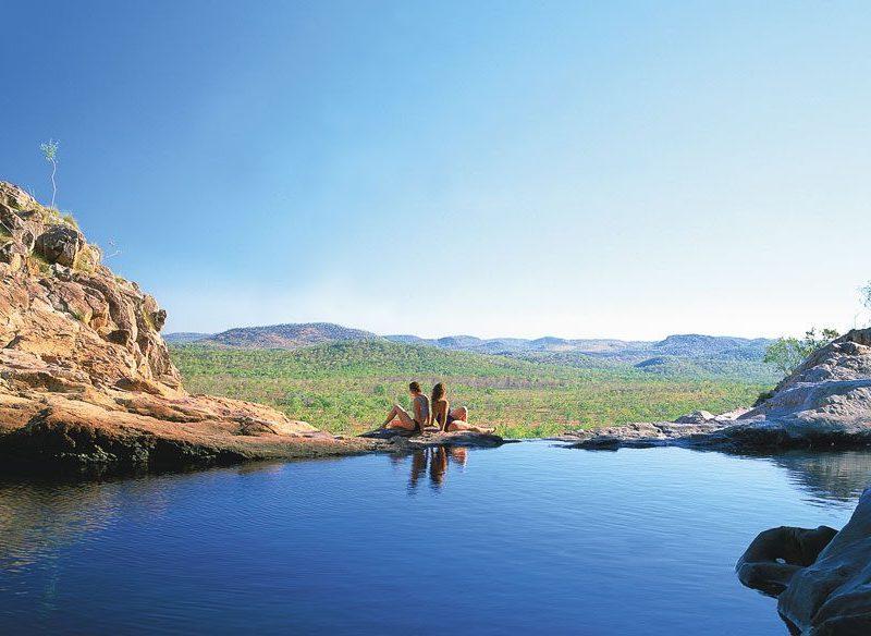 Gunlom Falls Plunge Pool, Kakadu