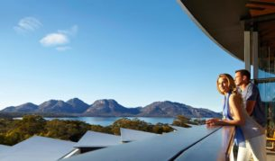 "Catriona Rowntree says Saffire Freycinet would be ""the ultimate gift certificate."""