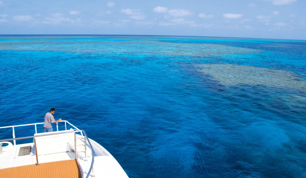 300km off WA's Kimberley coast is Rowley Shoals, a snorkeller's paradise.