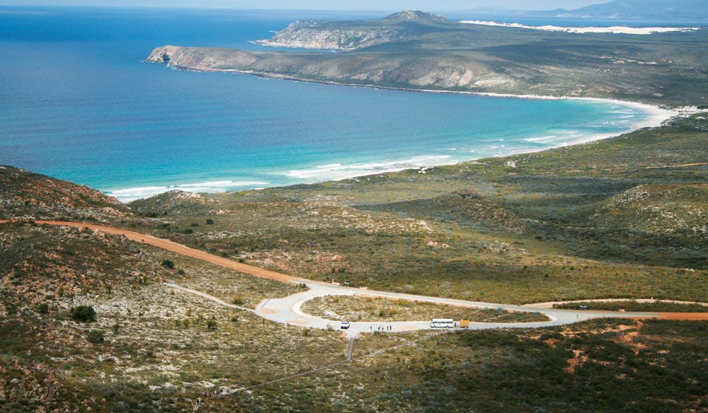 Mylies Beach, from East Mount Barren (photo: Tourism Western Australia).