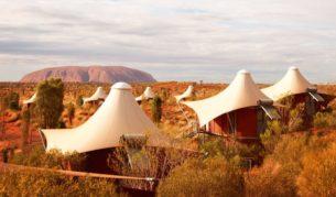 How's the view? Longitude 131, Ayers Rock Resort (photo: Tourism Australia).