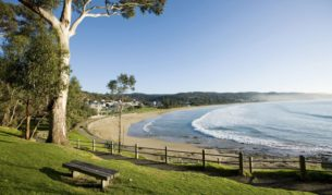 Lorne, Victoria: sitting pretty on the Great Ocean Road.