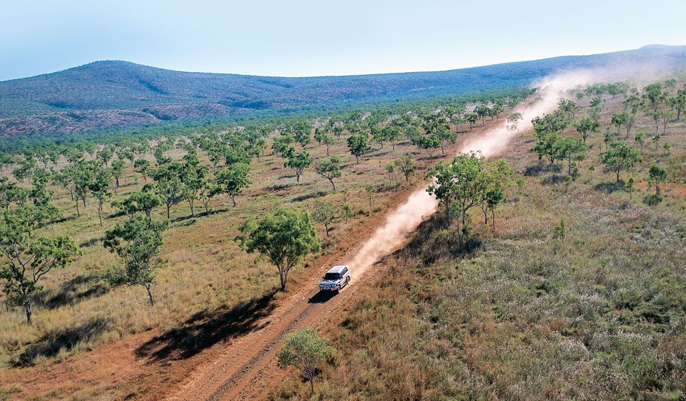 The Gibb River Road, near Imintji Wilderness Camp (photo: Tourism Western Australia).